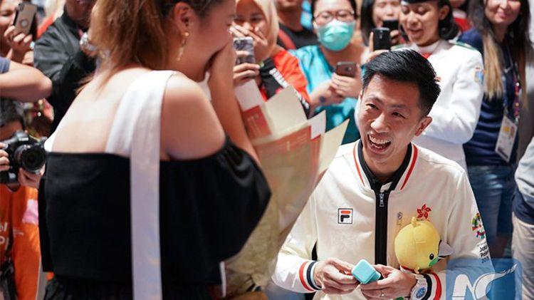 Nggak Cuma di Asian Games 2018, Lamaran Juga Terjadi di Olimpiade 2016
