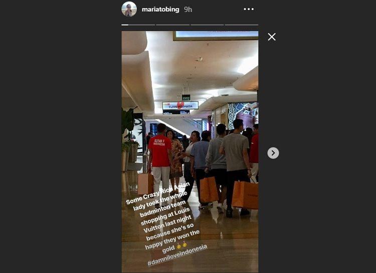 Peroleh Medali, Atlet Bulu Tangkis Indonesia Tenteng Belanjaan Puluhan Juta!
