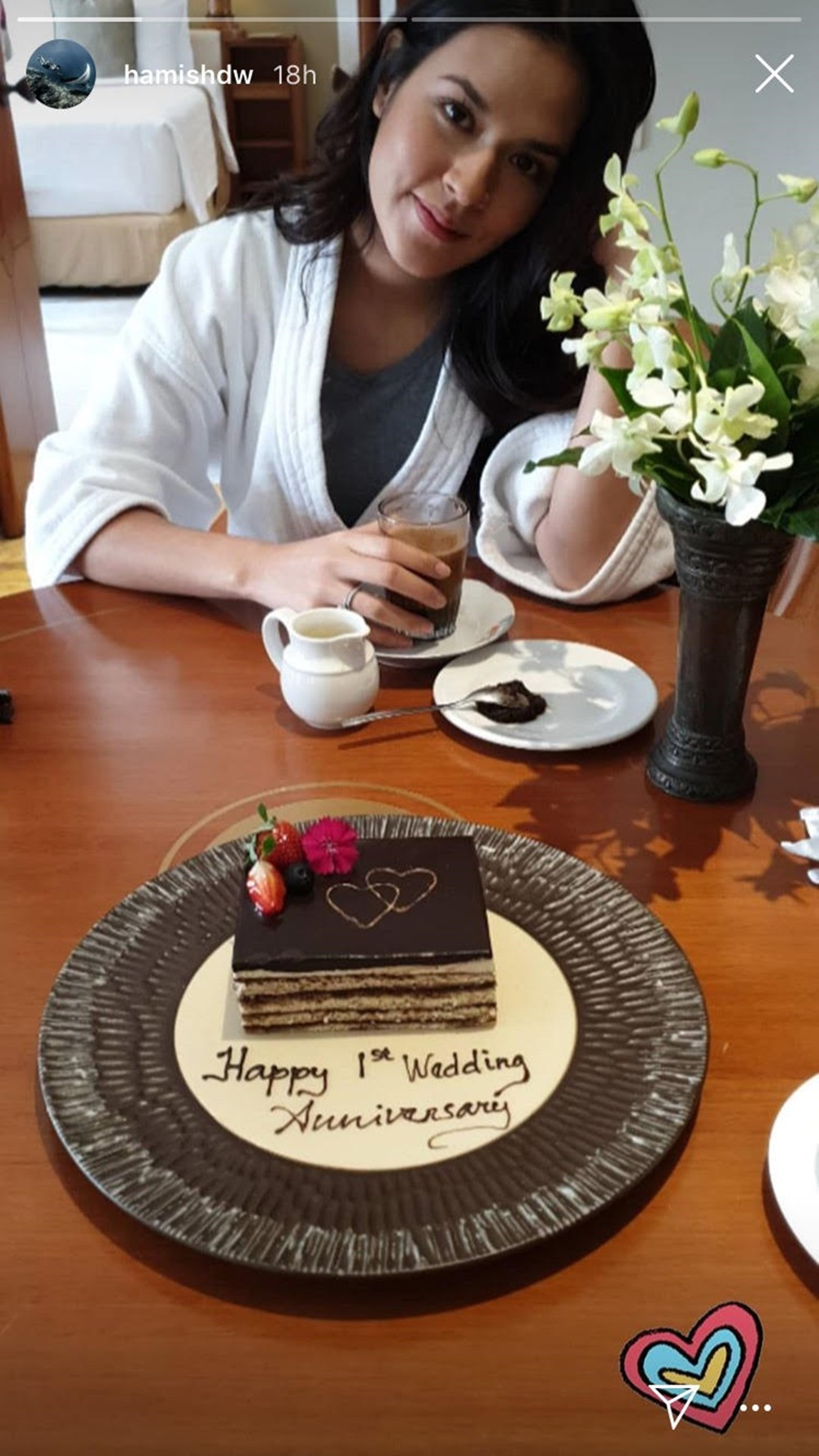 Bikin Baper, Ini Cara Raisa dan Hamish Daud Rayakan Setahun Pernikahan