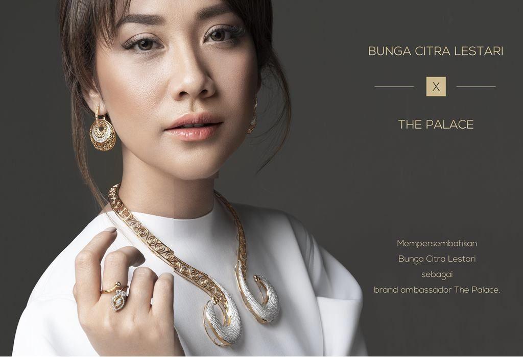 The Palace Kenalkan Bunga Citra Lestari sebagai Brand Ambassador