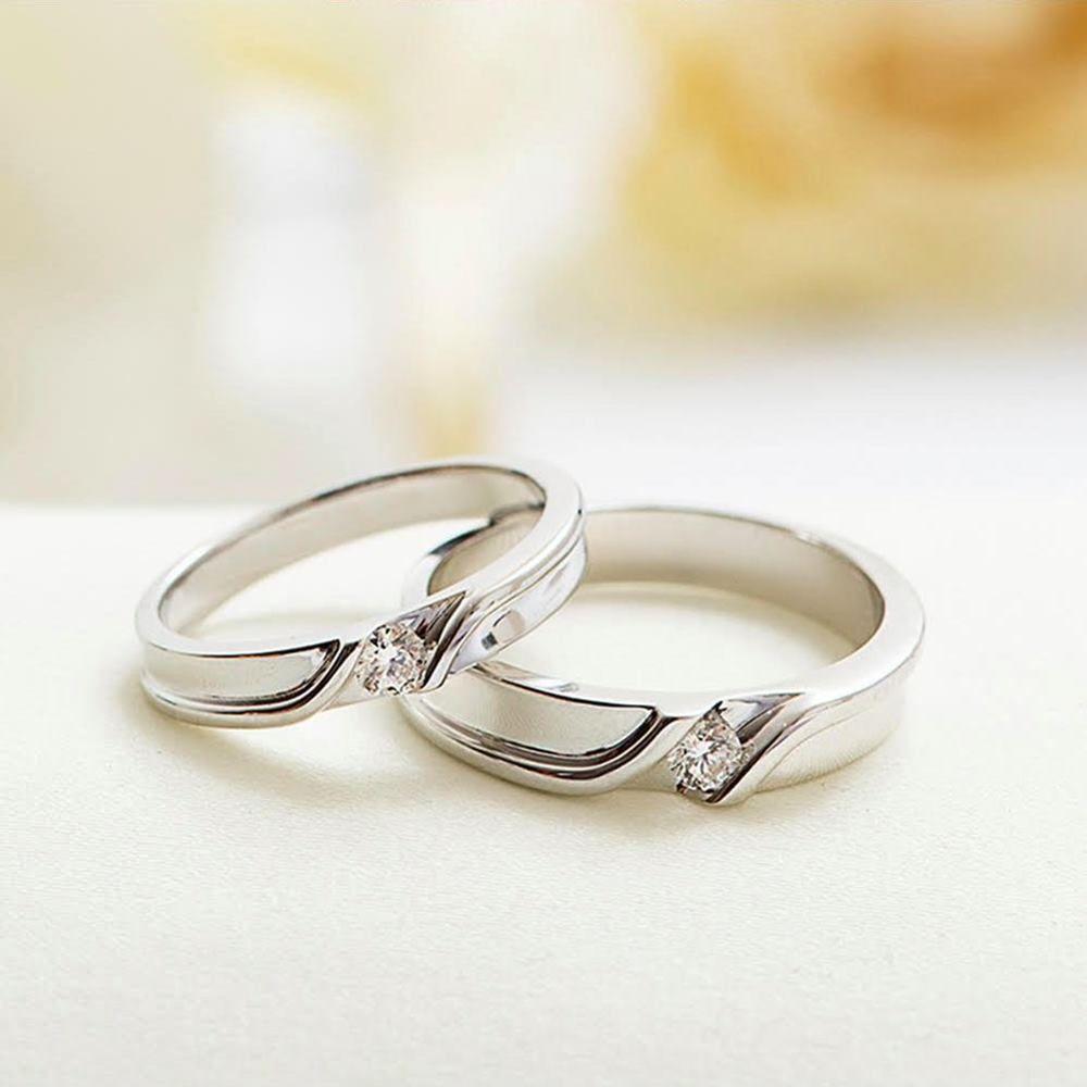 Cincin Pernikahan Mens Unik, - Untuk Saat Yang Umum Tidak Akan Dilakukan.