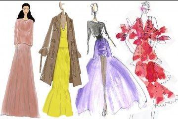 Mengintip Sketsa Para Desainer untuk New York Fashion Week Spring 2019