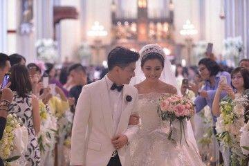 Mewah, 5 Selebriti Indonesia Ini Gelar Pernikahan Bak Negeri Dongeng