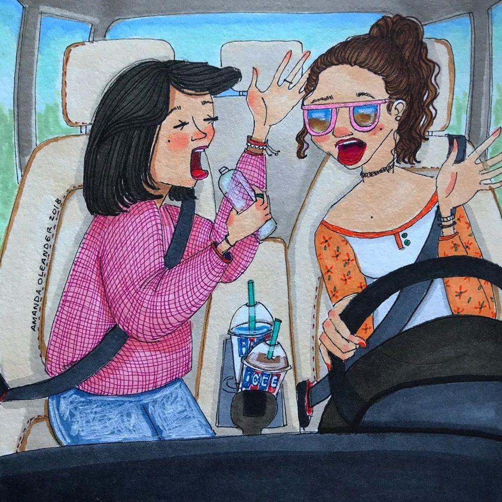 Bebas dan Bahagia, 10 Ilustrasi Ini Buktikan Serunya Jadi Cewek Single