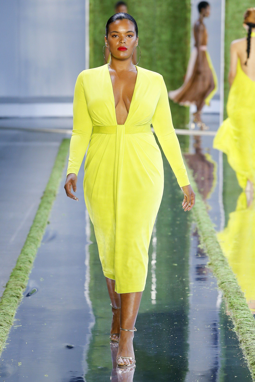Ini Trend Baju untuk Tubuh Plus-Size dari New York Fashion Week
