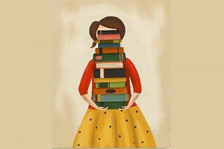 8 Ilustrasi Tentang Buku Ini Cocok Banget untuk Kamu yang Suka Baca