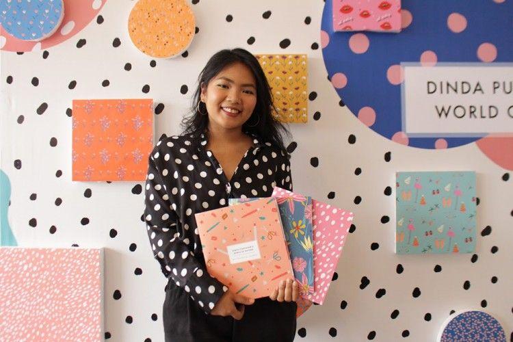 Rilis Art Book Terbaru, Dinda Puspitasari Ingin Menginspirasi Anak Muda