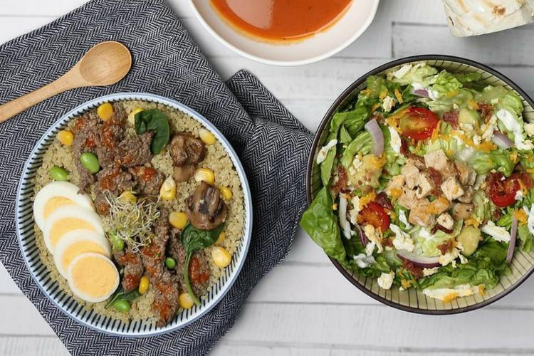 Hidup Sehat dengan Menu Warm Protein Bowls dari SaladStop! Yuk!