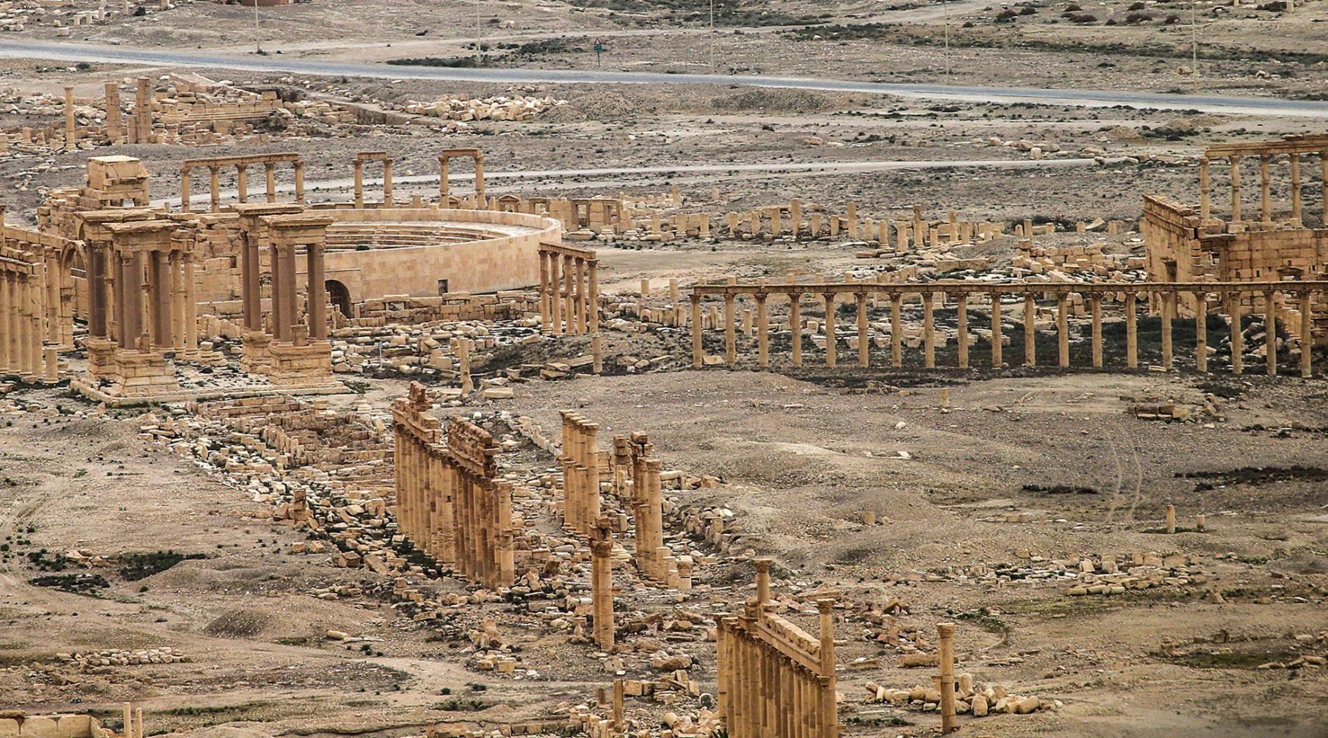 Kota Kuno Suriah Palmyra Akan Dibuka Untuk Tujuan Lokasi Wisata Pada 2019