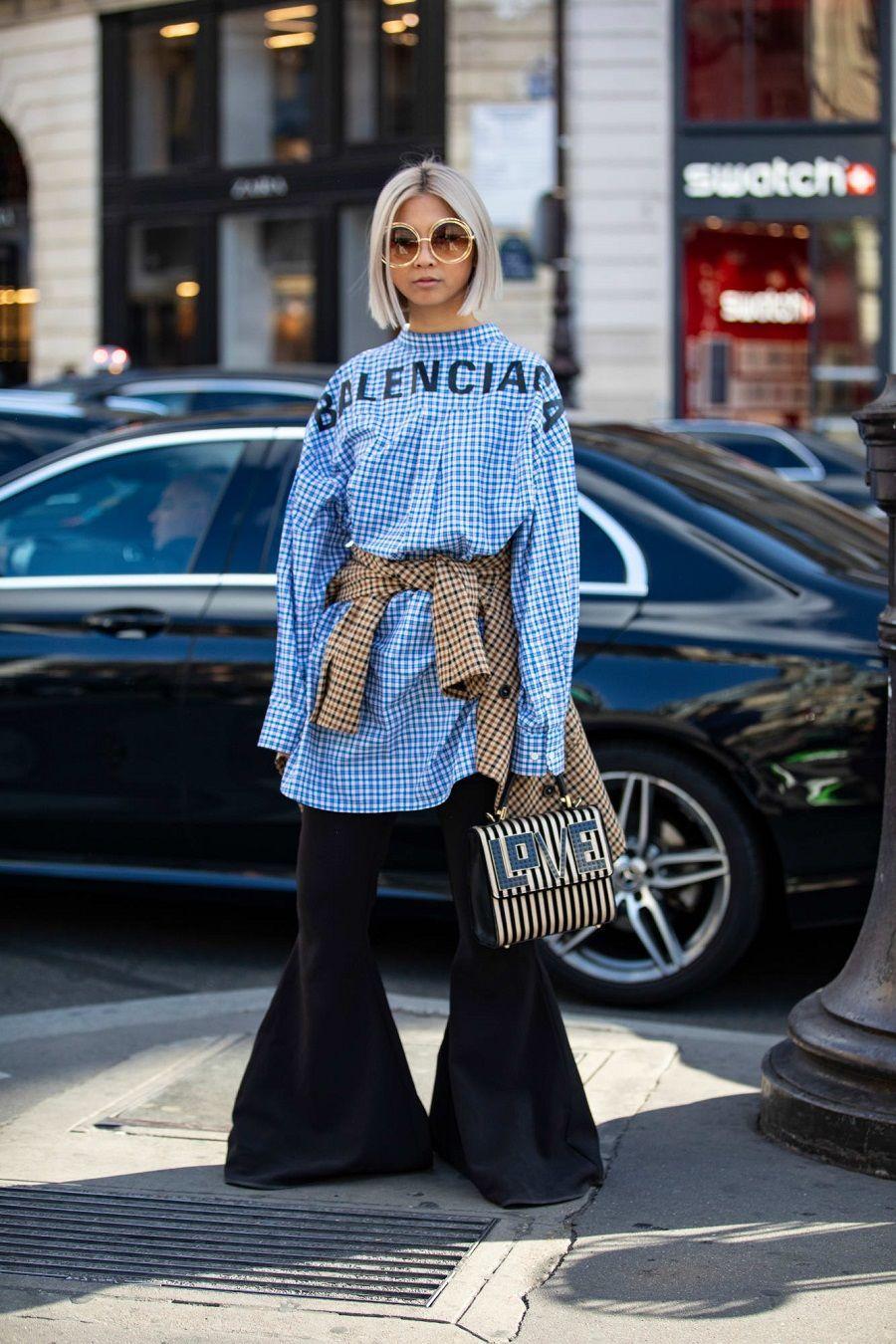 Gaya Keren Para Street Style Star di Paris Fashion Week Spring 2019