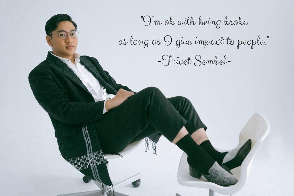 #IAMREAL: Trivet Sembel, Memanusiakan Manusia Lewat Proud Project