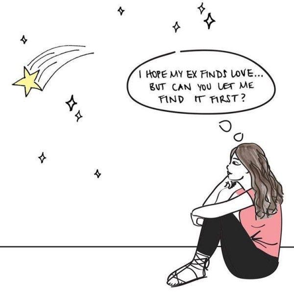 10 Ilustrasi yang Wanita Rasakan Saat Jatuh Cinta dan Patah Hati