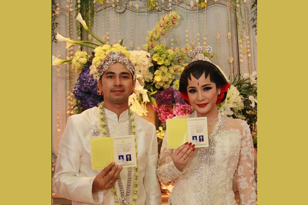 Anniversary, Ini Perjalanan Cinta Raffi Ahmad dan Nagita Slavina