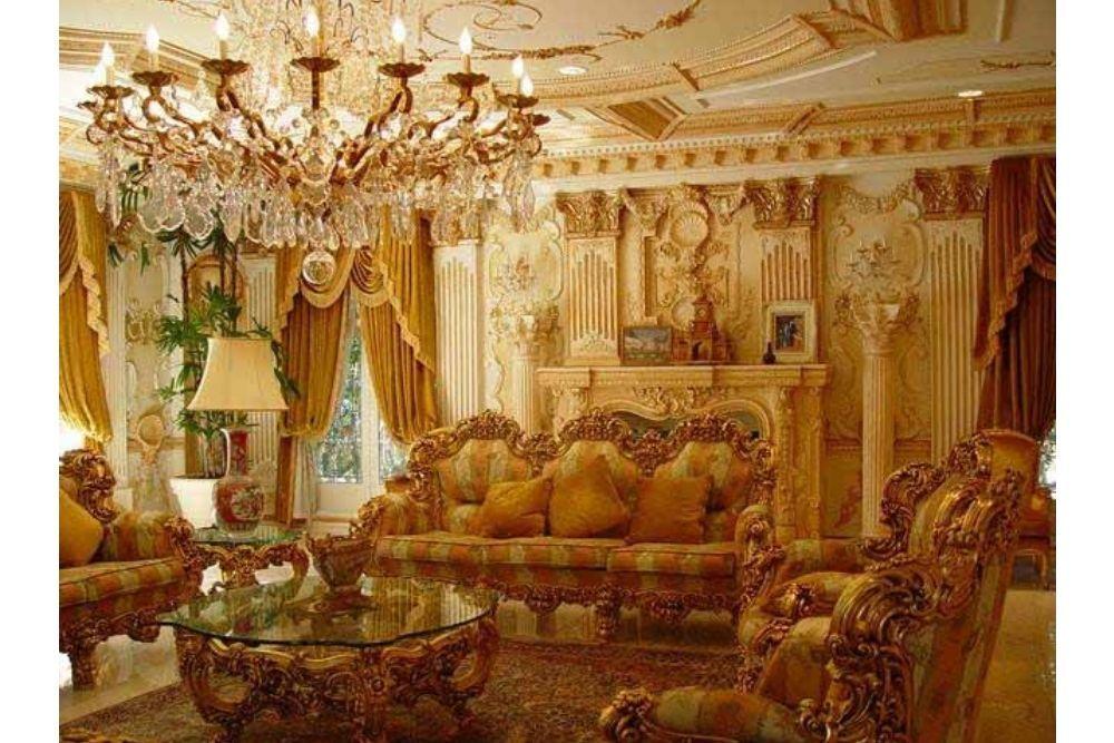 Serba Emas, Begini Mewahnya Penampakan Interior Rumah Shahrukh Khan