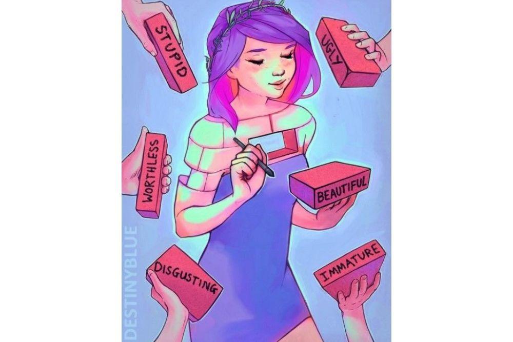 8 Ilustrasi Ini Gambarkan Perasaanmu Ketika Sedang Tertimpa Masalah