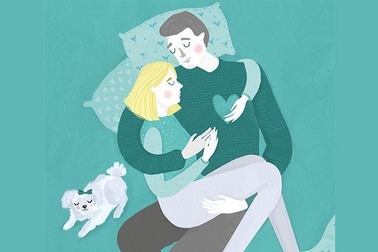 Romantis, 12 Ilustrasi Ini Ungkap Manisnya Kehidupan Setelah Menikah