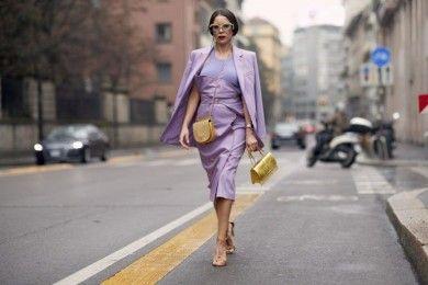 5 Trik Ciptakan Penampilan yang Chic dengan Warna Lavender