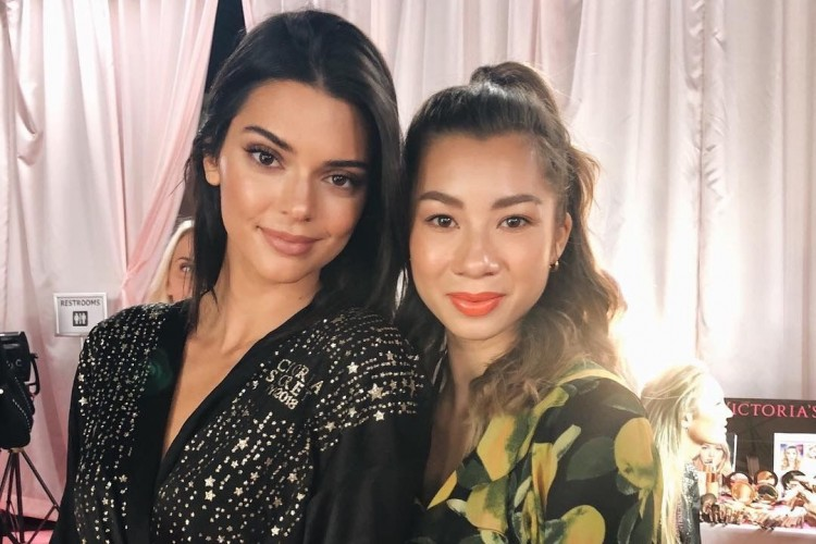 Para Seleb Indonesia yang Datang ke Show Victoria's Secret 2018