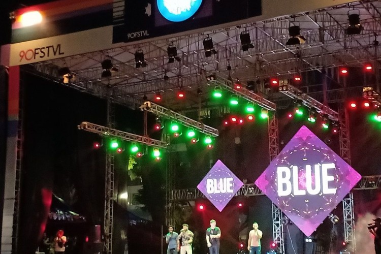 Reunian, The Moffatts & Blue Panaskan Panggung The 90's Festival