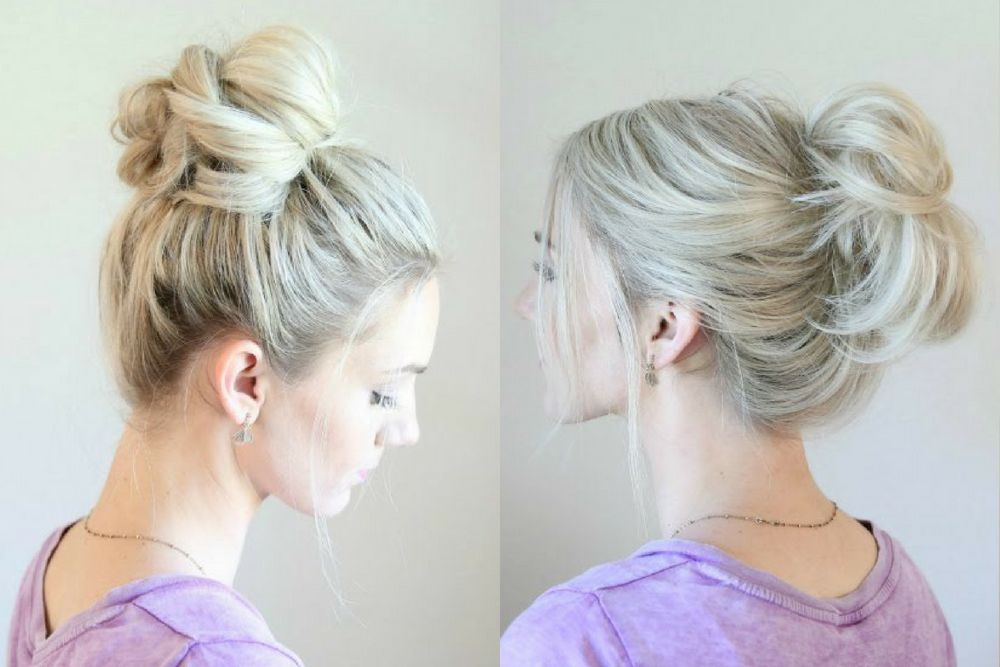 5 Gaya Hair Updo yang Simpel dan Menawan
