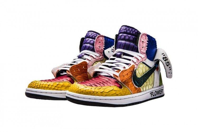 Super Cool! Ini Edisi Terbatas Sepatu Off-White™ x Nike Air Jordan