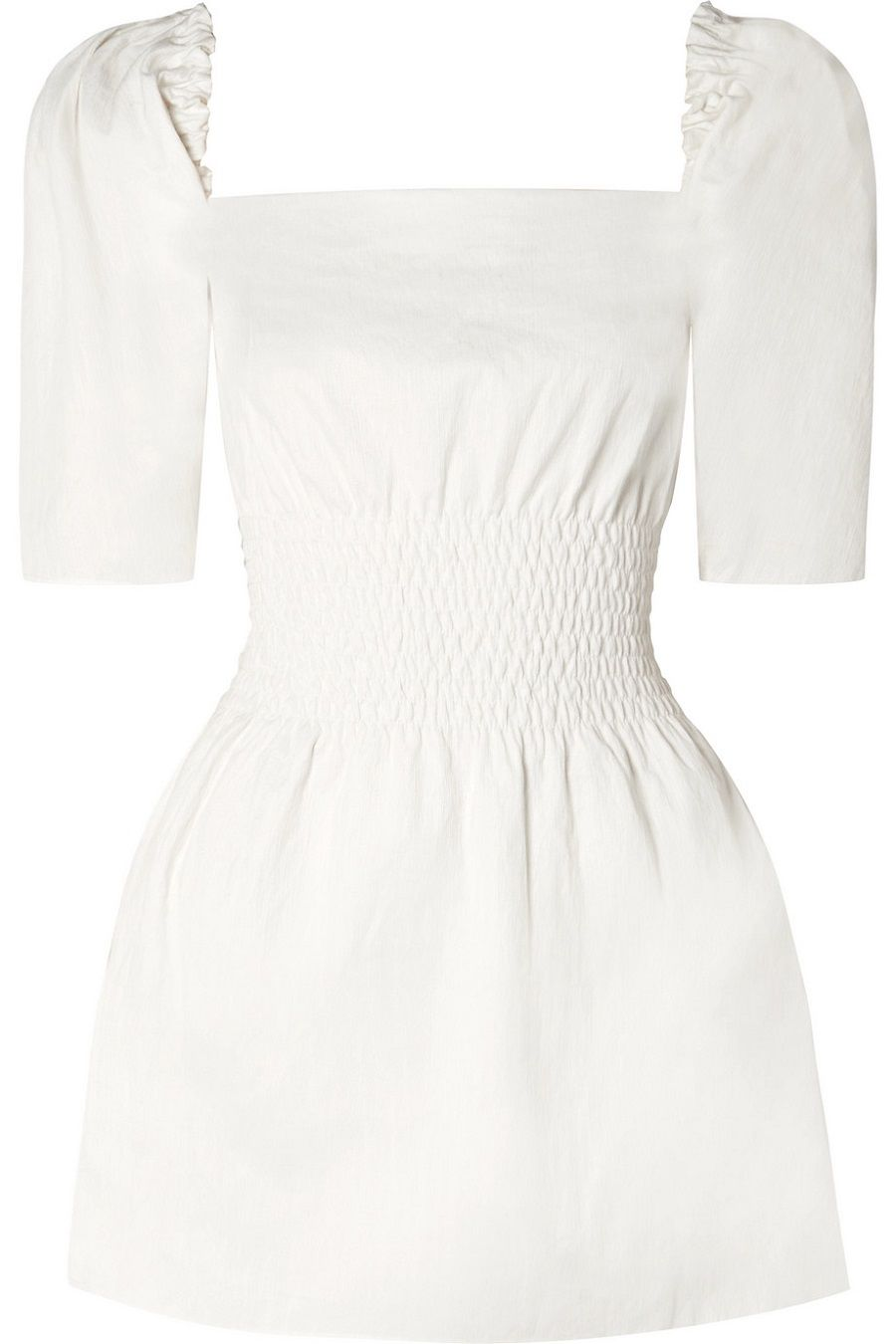 Pilihan Dress Putih Santai untuk Dikenakan Sehari-hari