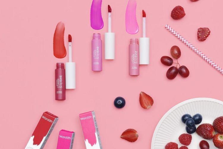 7 Lip Tint Brand Lokal yang Tahan Lama dan Terjangkau, Sudah Coba?