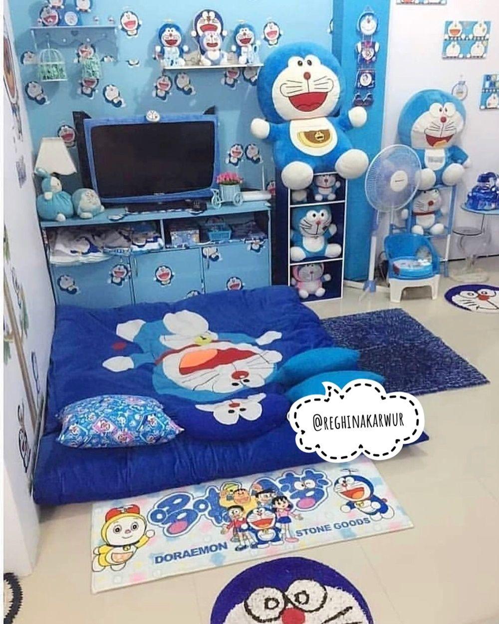 Ruang Belajar siswa kelas 5: Desain Kamar Doraemon
