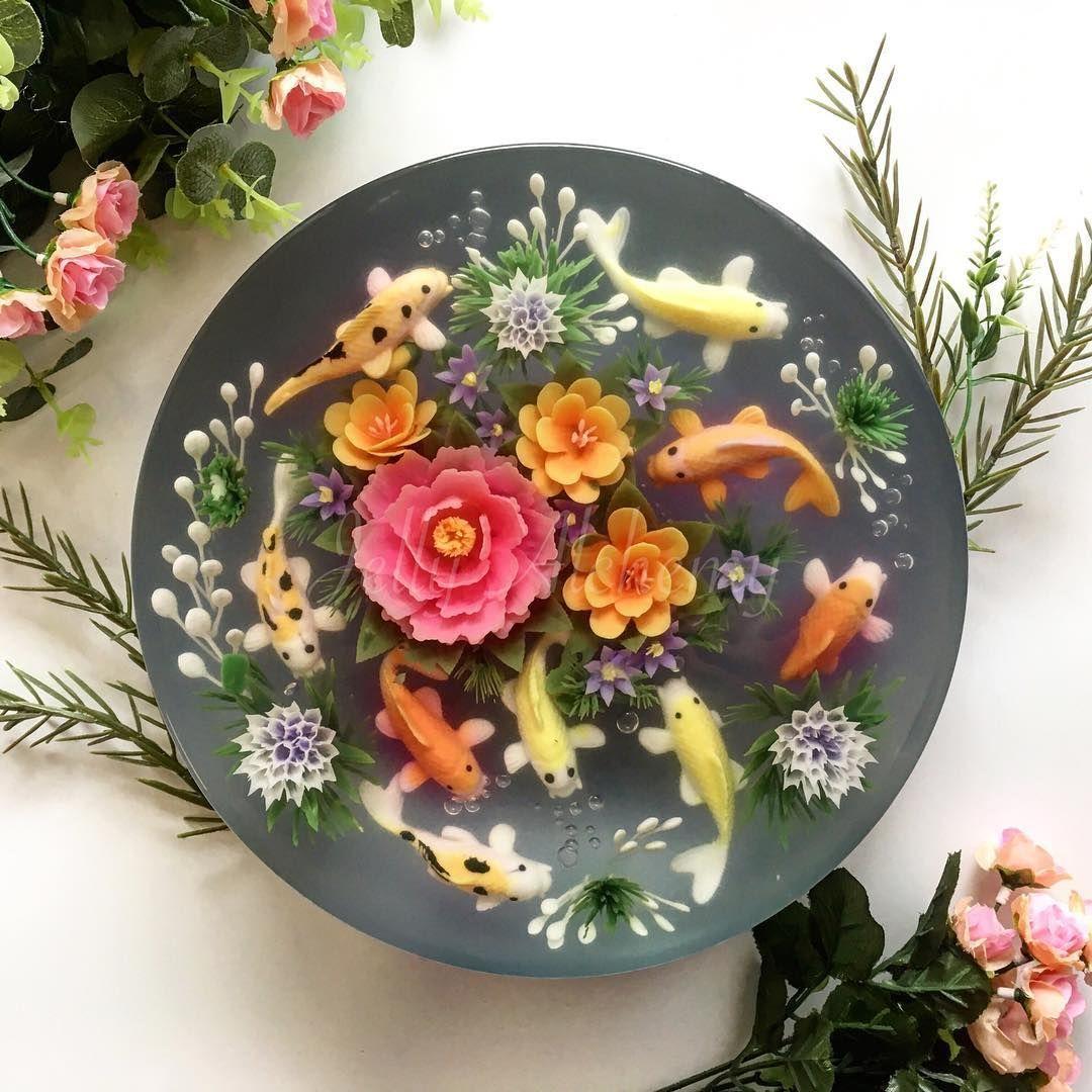 Seperti Bunga dalam Pot, 10 Jeli Cantik Ini Sayang buat Dimakan