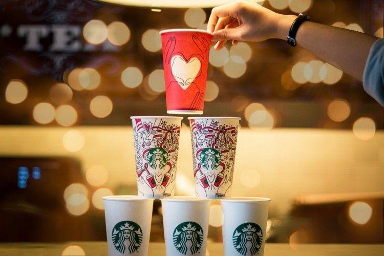 Selalu Ditunggu, Ini Desain Cup Starbucks 10 Tahun Terakhir
