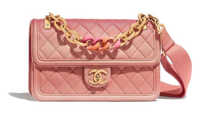 Gemas! Chanel Rilis Tas Terbaru Berwarna Pink Coral 0100a2c9e2