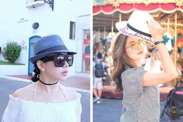 Sama-sama Cantik, Ini Perbandingan Gaya Makeup Luna Maya dan Syahrini