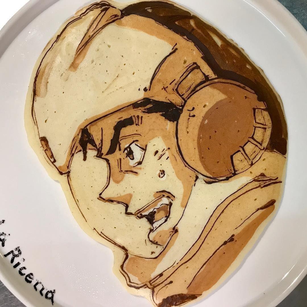 Kreatif! Chef Asal Jepang Ini Buat Pancake dengan Karakter Tokoh Anime