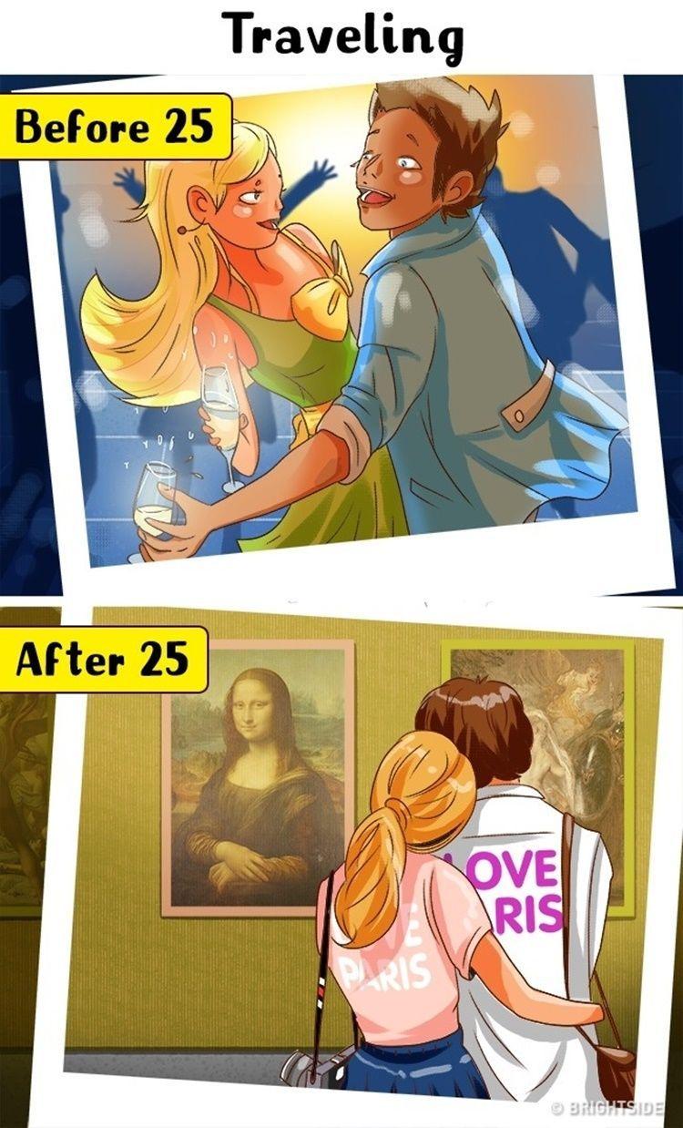 9 Ilustrasi Perubahan yang Kamu Rasakan Setelah Berusia 25 Tahun