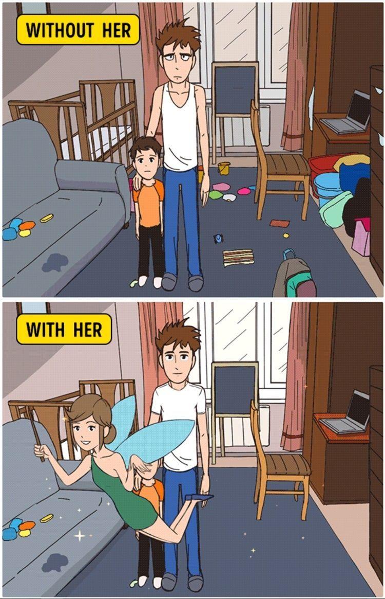 9 Ilustrasi Ini Buktikan Kalau Perempuan Itu Makhluk 'Ajaib'