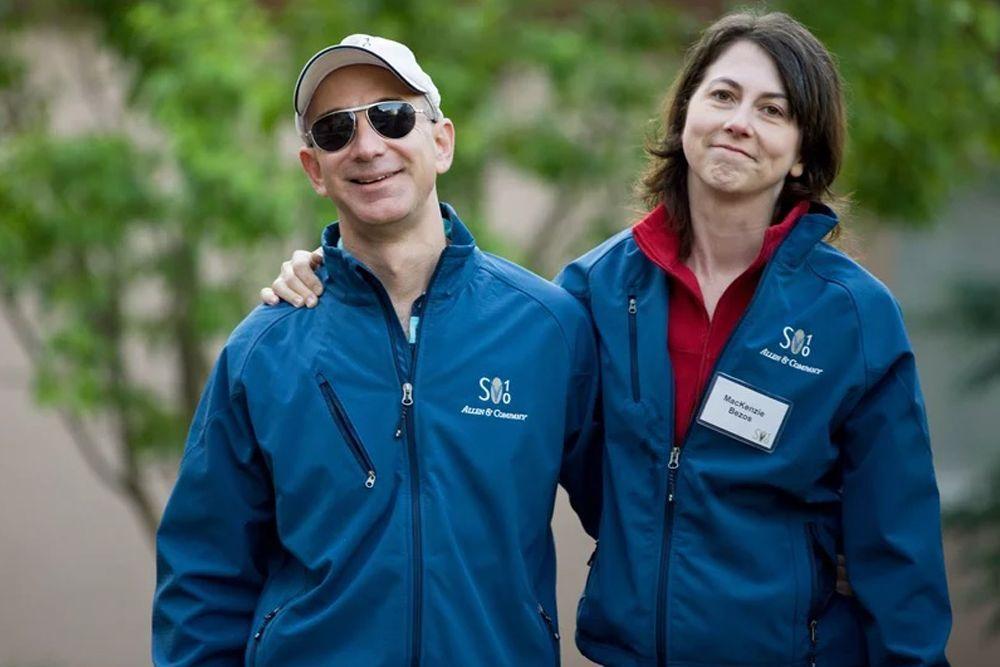 Jadi Pasangan Terkaya di Dunia, Jeff Bezos dan Istri Memilih Bercerai