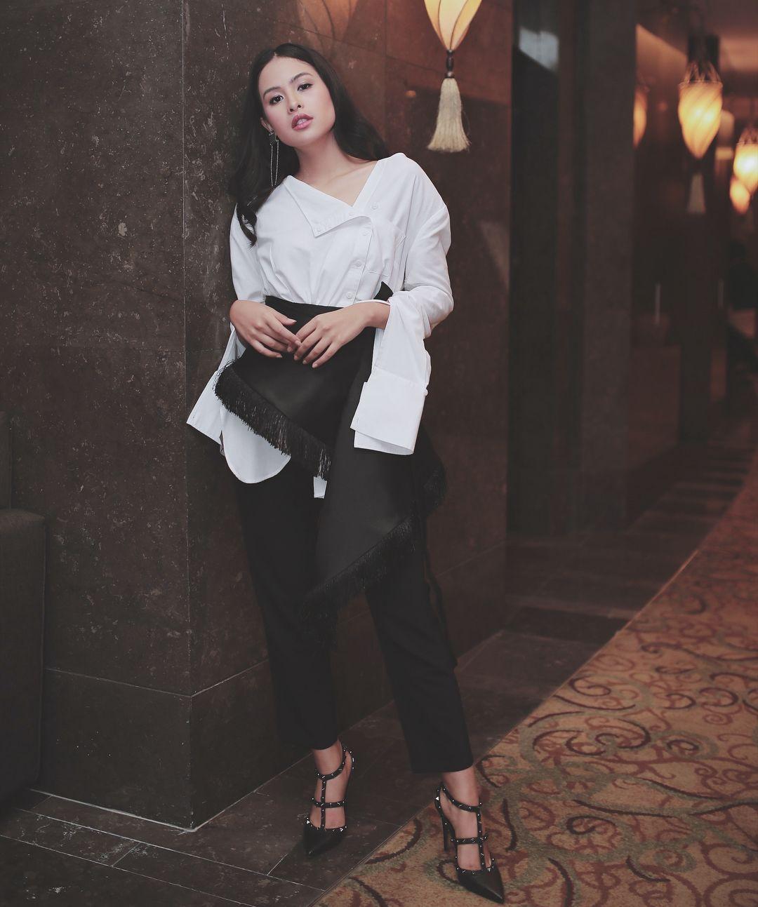 5 Inspirasi Tampil Formal Chic A la Maudy Ayunda