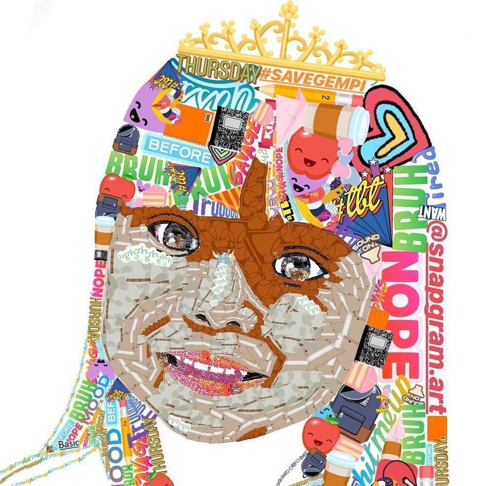 'Gabut', Perempuan Kreatif Ini Bikin Karikatur Pakai Stiker Instastory