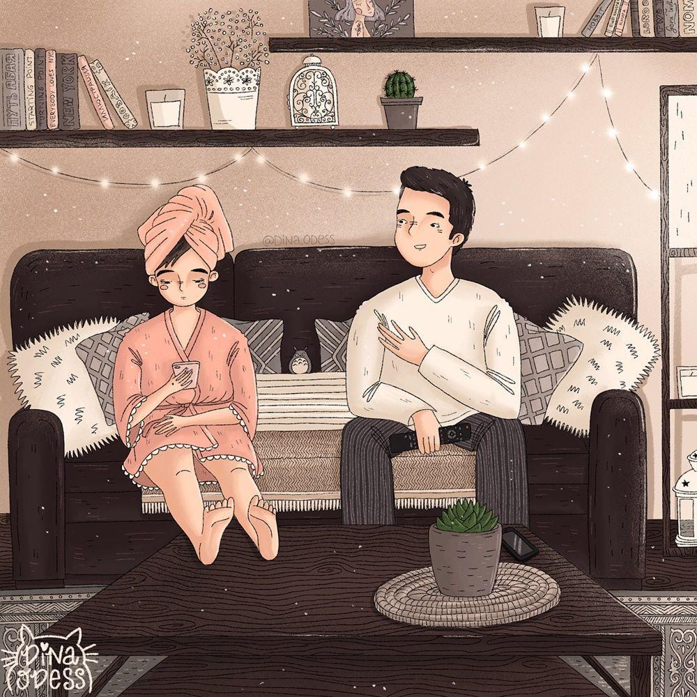 10 Ilustrasi tentang Lika-Liku Kehidupan Setelah Menikah