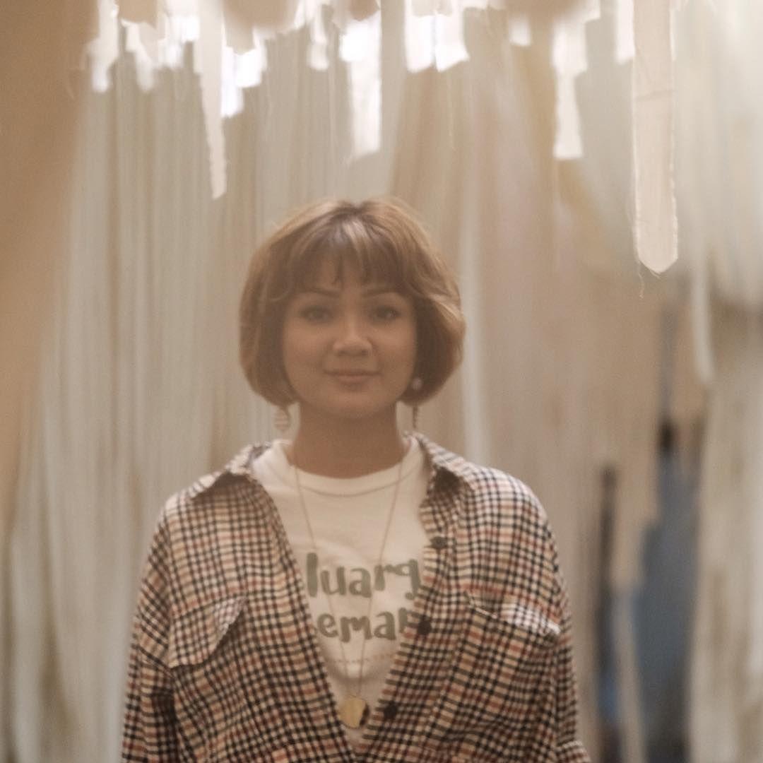 Nirina Zubir Ungkap Sulitnya Jadi 'Emak' di Film Keluarga Cemara