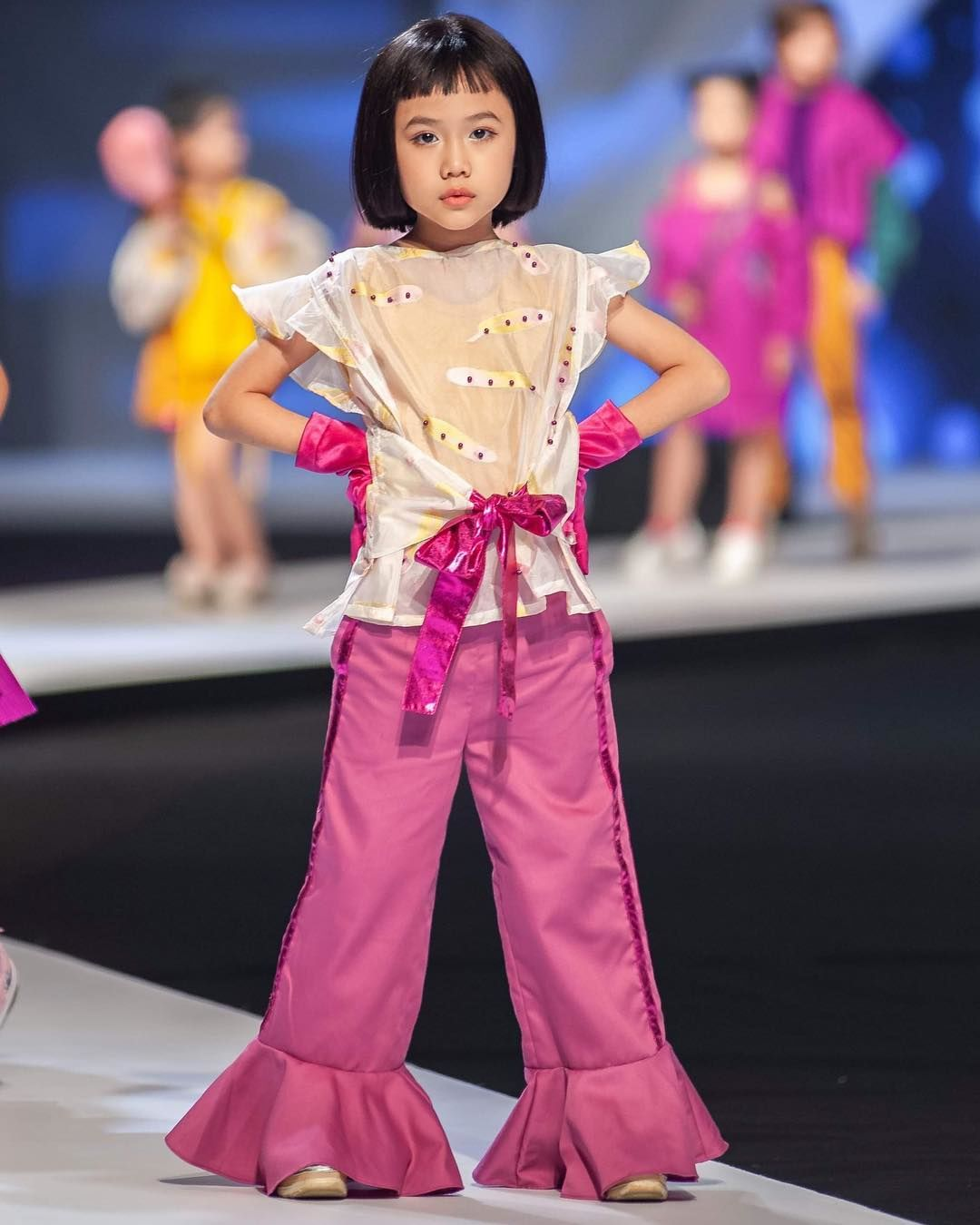 Annie Khanh An, Model Cilik yang Mendapat Pujian dari Coco Rocha