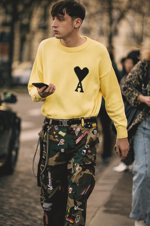 Mengintip Gaya Para Cowok Modis Di Paris Men Fashion Week