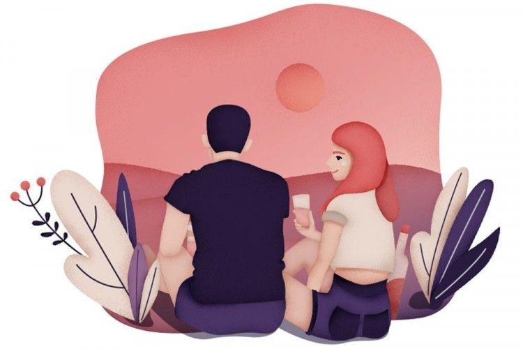 9 Ilustrasi Lucu tentang Kejahilan Pasangan yang Sudah Lama Bersama