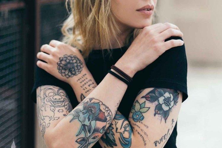 Cari Tahu Karakteristik Seseorang Lewat Letak Tato yang Mereka Miliki