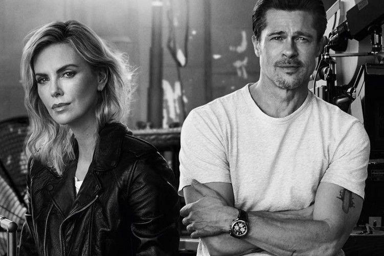 Heboh! Ini Kronologi Hubungan Asmara Brad Pitt dan Charlize Theron