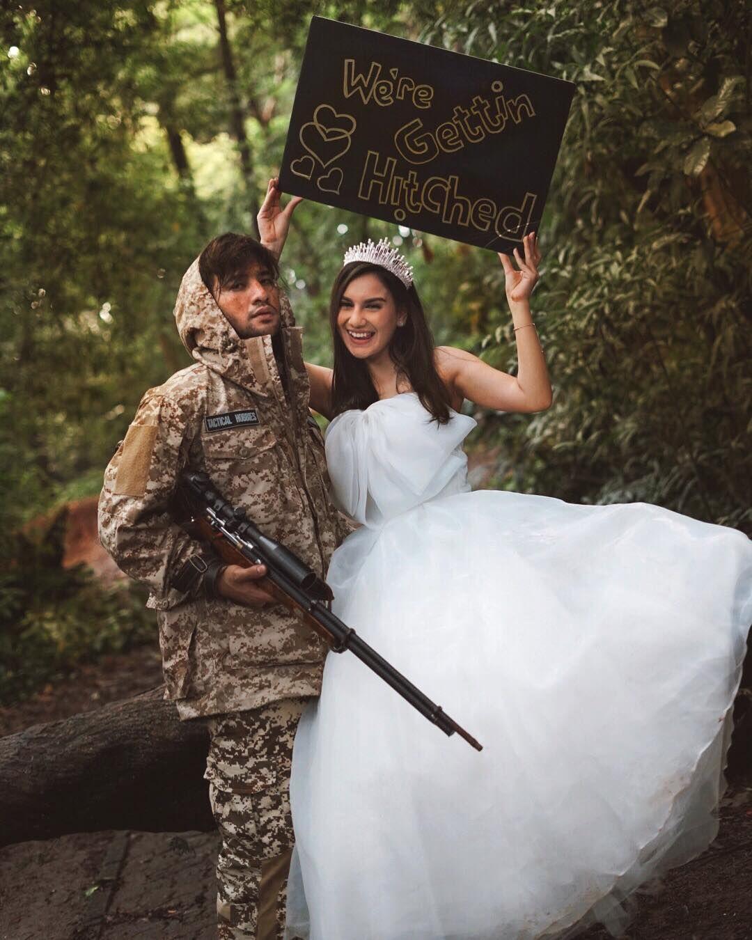 5 Pasangan Artis Ini Punya Tema Pre Wedding Yang Unik