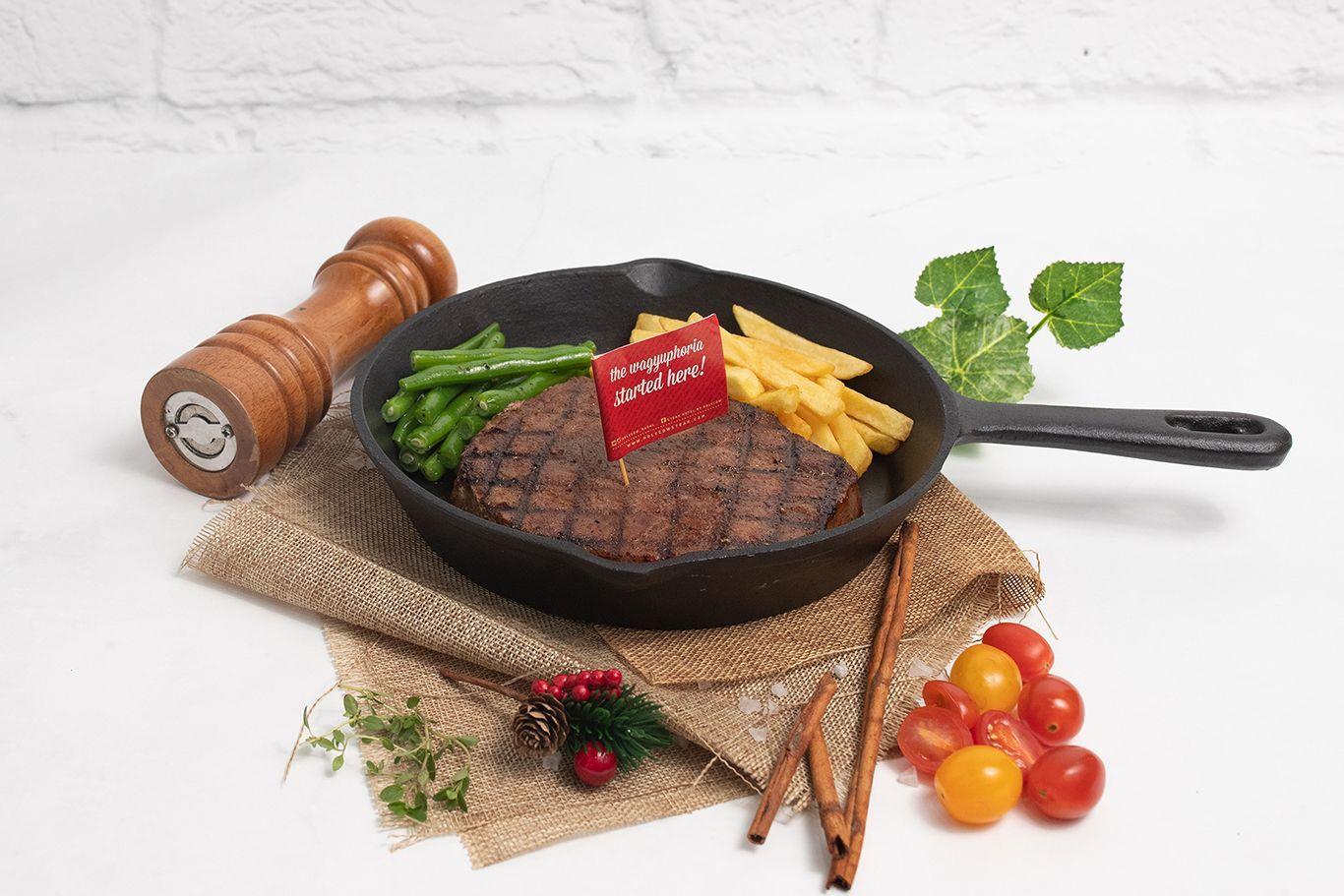 Lapar? Yuk Makan Mewah Wagyu Steak Dibawah Rp250 Ribu di TKP Ini