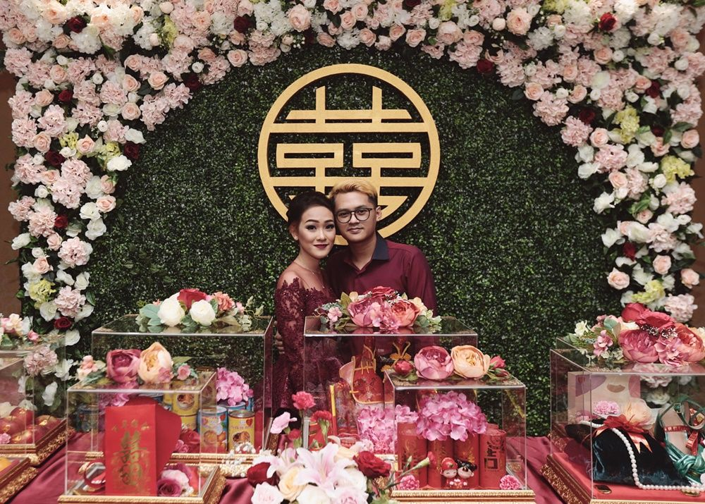 Berdarah Tionghoa, 7 Artis Ini Lakukan Prosesi Sangjit Sebelum Menikah