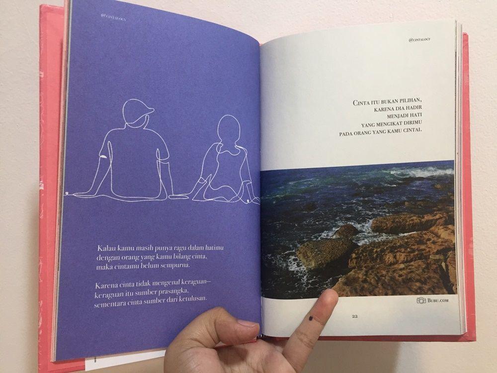 Cintalogy, Kumpulan Puisi Kekinian yang Ajarkan Cinta dalam Perbedaan