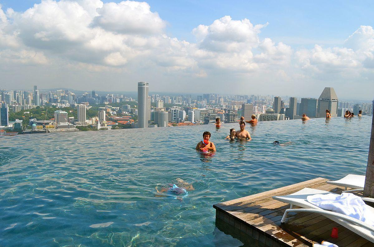 Ini Kolam Renang Tertinggi di Dunia yang Ada di Dubai, Berani Coba?